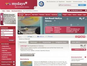 mydays - Tagesmalkurs